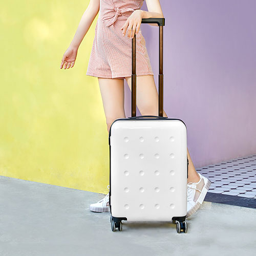 Xiaomi 90 GOFUN Spinner Wheels Travel Suitcase 24` Pink