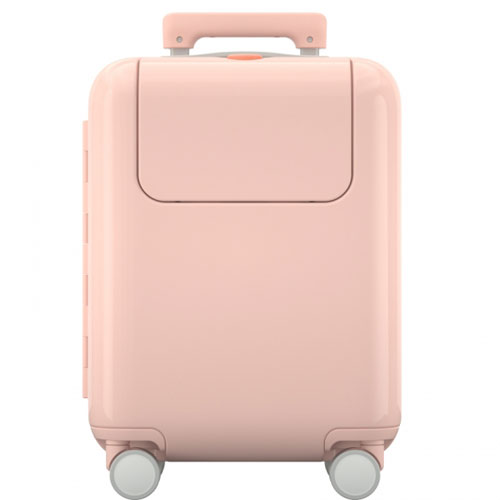 "Mi Bunny Trolley Case 17"" Pink"