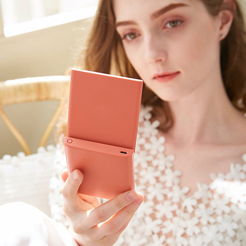 Xiaomi VH Makeup Pocket Mirror Red