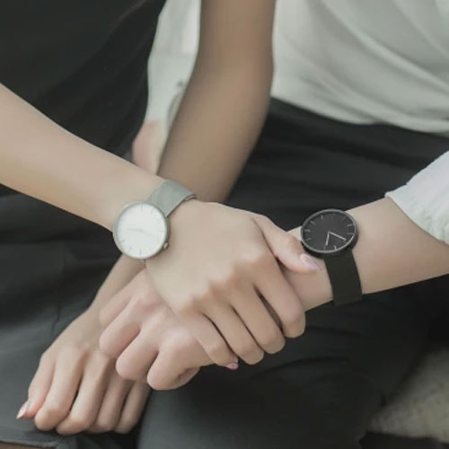 TwentySeventeen Quartz Watch Black Version (Leather Strap)