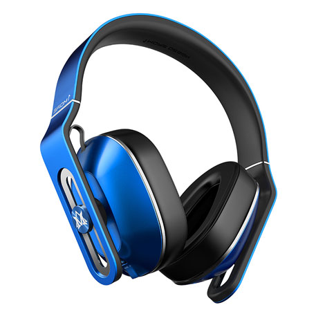 1More MOMO Plus Bluetooth Over-Ear Headphones Blue
