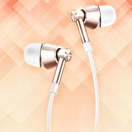 1More Voice of China Piston In-Ear Headphones White