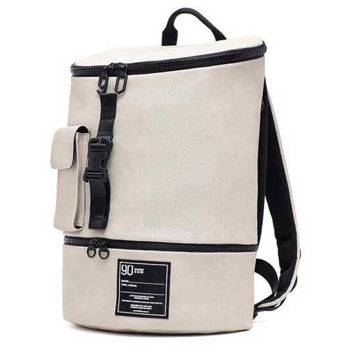 90 GOFUN Chic Small Backpack White