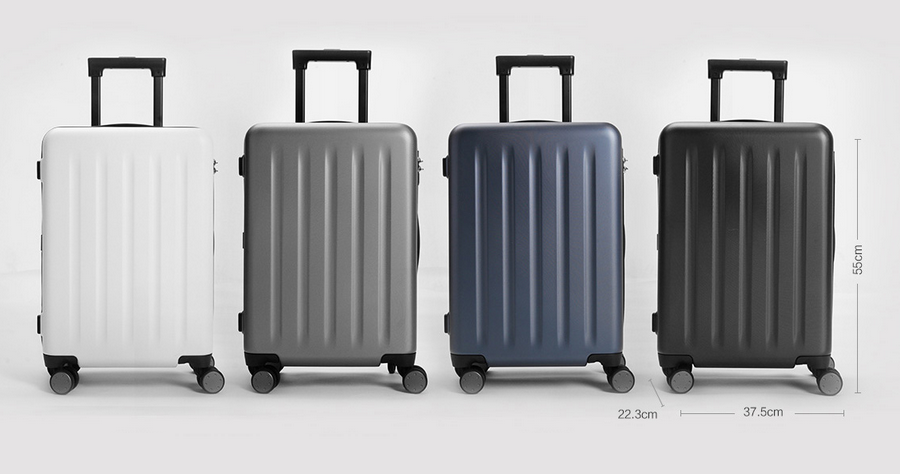 "Xiaomi Trolley 90 Points Suitcase 20"" Gray Stars"