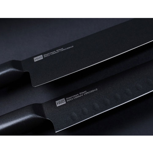 Huo Hou Stainless Steel Knife Set 2 pcs Black