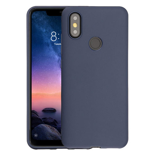 Mi A2 TPU Soft Case Blue