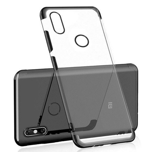 Mi Max 3 Silicone Case Cover Black