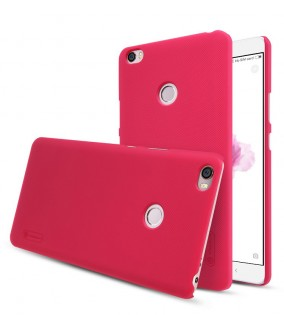 NILLKIN Frosted Shield Case for Xiaomi Mi Max Red