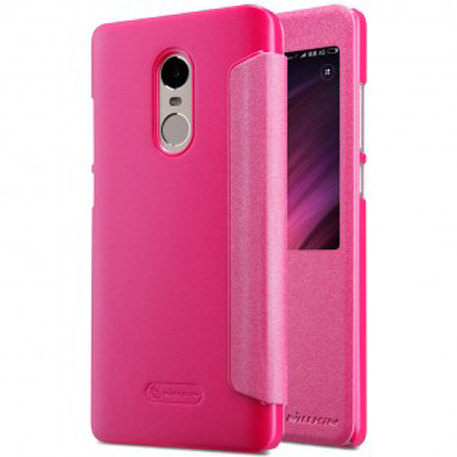 NILLKIN XIAOMI RedMi Note 4X Sparkle Leather Case Pink