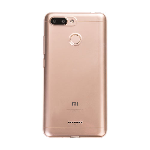 Redmi 6 Soft Protective Case Transparent