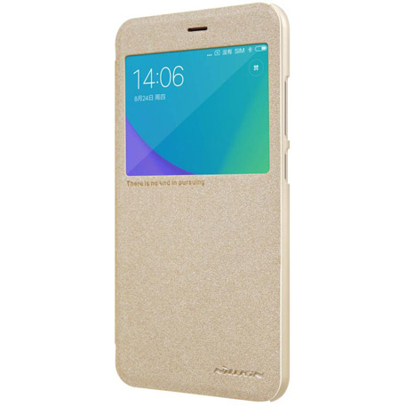 NILLKIN Sparkle Folio Case for Xiaomi Redmi Note 5A Gold