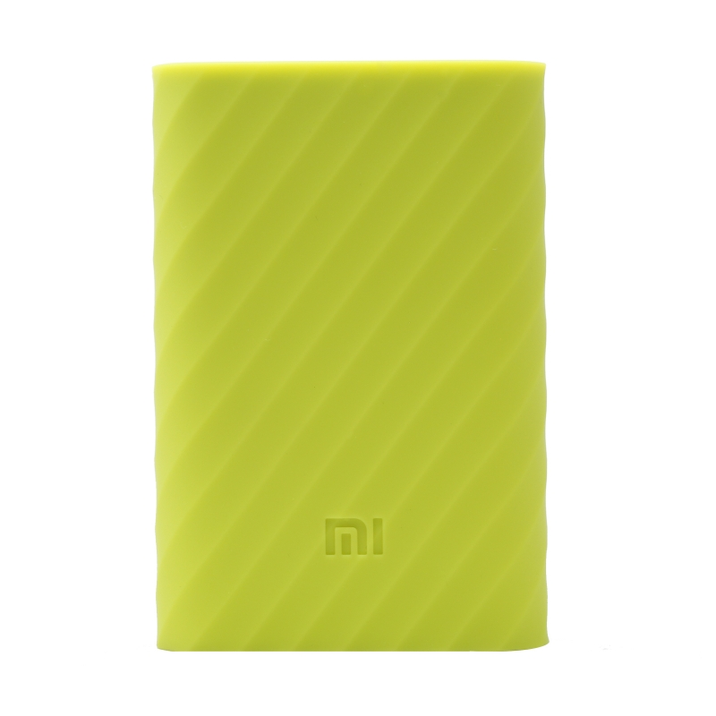 Xiaomi Mi Power Bank 10000mAh Silicone Protective Case Green