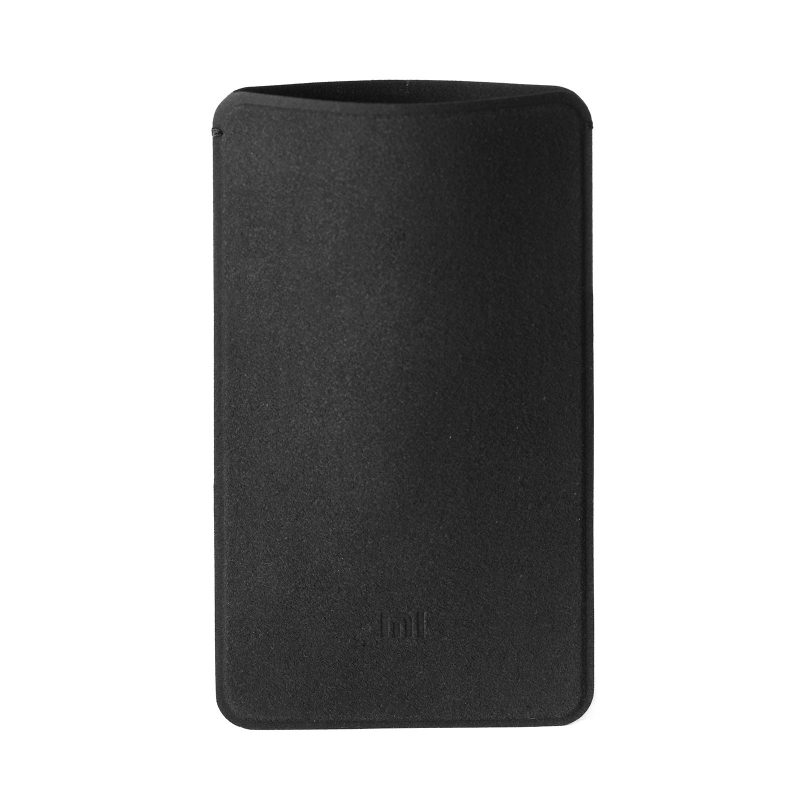 Xiaomi Mi Power Bank 5000mAh Microfiber Pouch Case Black