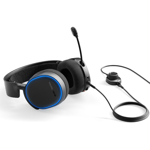 SteelSeries Arctis 5 Wired Headset Black