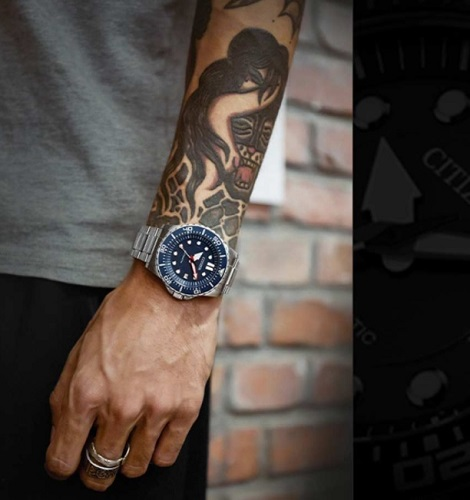 Citizen Watch ME Blue
