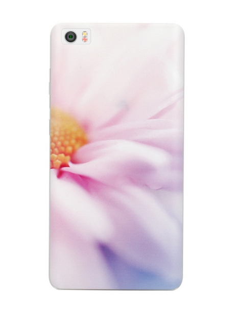 Xiaomi Mi Note 3D Protective Case Pink Flower