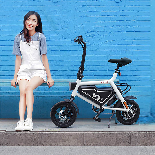 HIMO V1S Electric Bicycle White