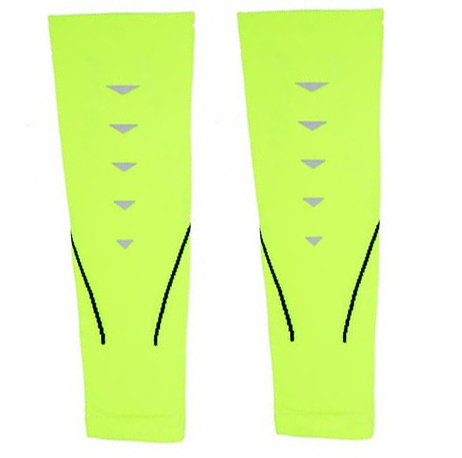 MITOWN Sports Compression Calf Sleeves Green Size M