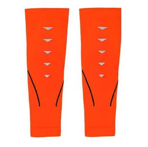 MITOWN Sports Compression Calf Sleeves Orange Size L