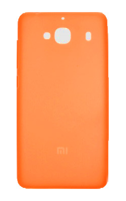 Xiaomi Redmi 2 / 2A Silicone Protective Case Orange