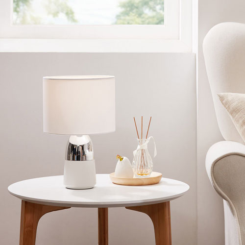 Xiaomi Oudenjiang Touch Table Lamp Silver