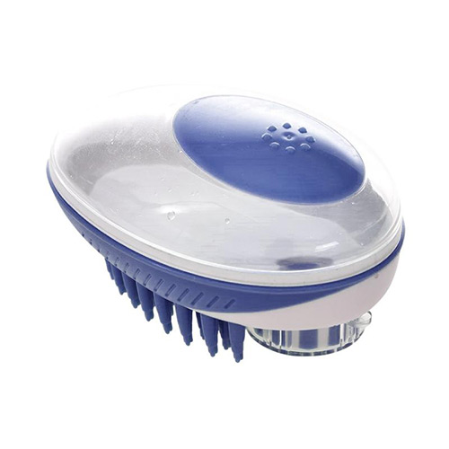 Multifunction Pet Cleaning Comb Blue