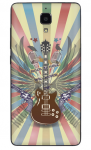 Xiaomi Mi 4 Vinyl Sticker Back Cover Guitar
