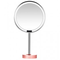 AMIRO LUX HD Desktop Makeup Mirror Rose Gold