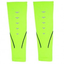 MITOWN Sports Compression Calf Sleeves Light Green (L)