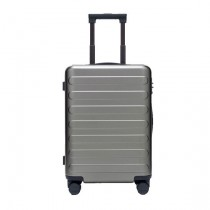 "RunMi 90 Fun Seven Bar Business Suitcase 20"" Gray"