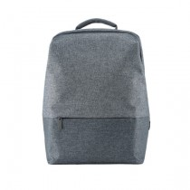 RunMi 90 Points Urban Simple Backpack Light Gray