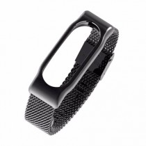 Xiaomi Mi Band 2 Stainless Steel Strap Black