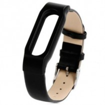 Xiaomi Mi Band Leather Strap Black