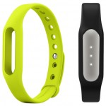 Xiaomi Mi Band Black + Mi Band Strap Green