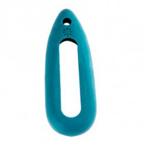 Xiaomi Mi Band Silicone Necklace Pendant Case Turquoise