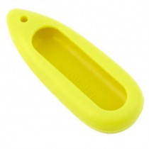 Xiaomi Mi Band Silicone Necklace Pendant Case Yellow