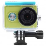 Xiaomi Yi Action Camera Waterproof Case Green