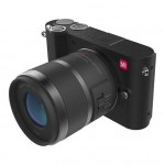 Xiaomi Yi M1 Mirrorless Digital Camera Prime Lens Chinese Version Black