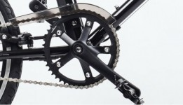YunBike C1 Chain Guard Black