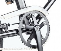 YunBike C1 Chain Guard Gray