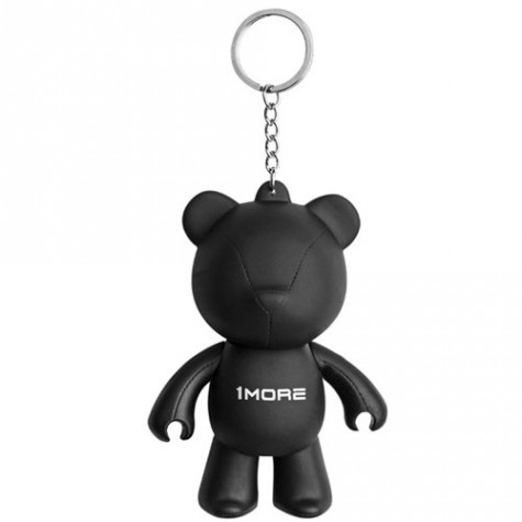 1MORE Bear Keychain Earphone Holder Black