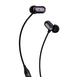 1More Capsule Dual Driver In-Ear Headphones Black
