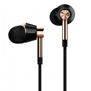 1More Triple Driver In-Ear Headphones Black/Gold