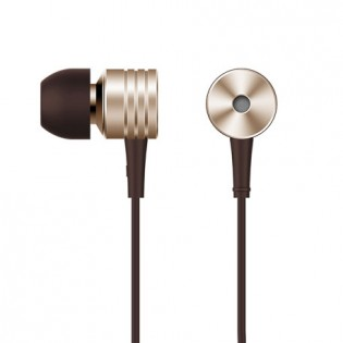 1More Vintage Piston In-Ear Headphones Gold