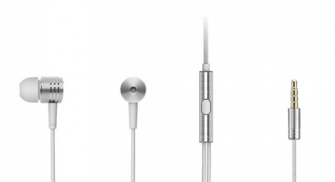 Xiaomi Mi Piston V2 In-Ear Headphones Silver
