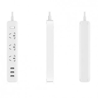 Xiaomi Mi Power Strip 3 Sockets / 3 USB Ports White