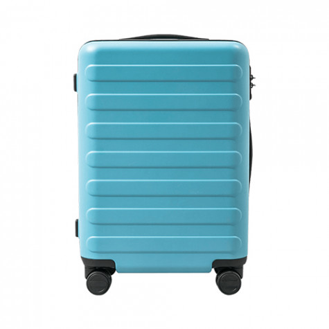 90 GO FUN Rhine-Flower suitcase Blue