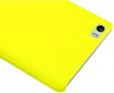 Xiaomi Mi Note Silicone Protective Case Yellow