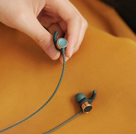Liberfeel Bluetooth Earphones Blue