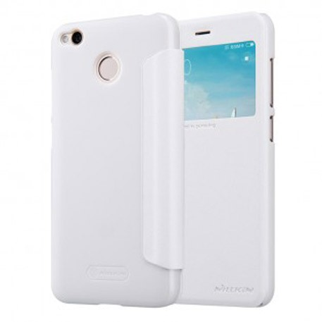 NILLKIN XIAOMI RedMi 4X Sparkle Leather Case White